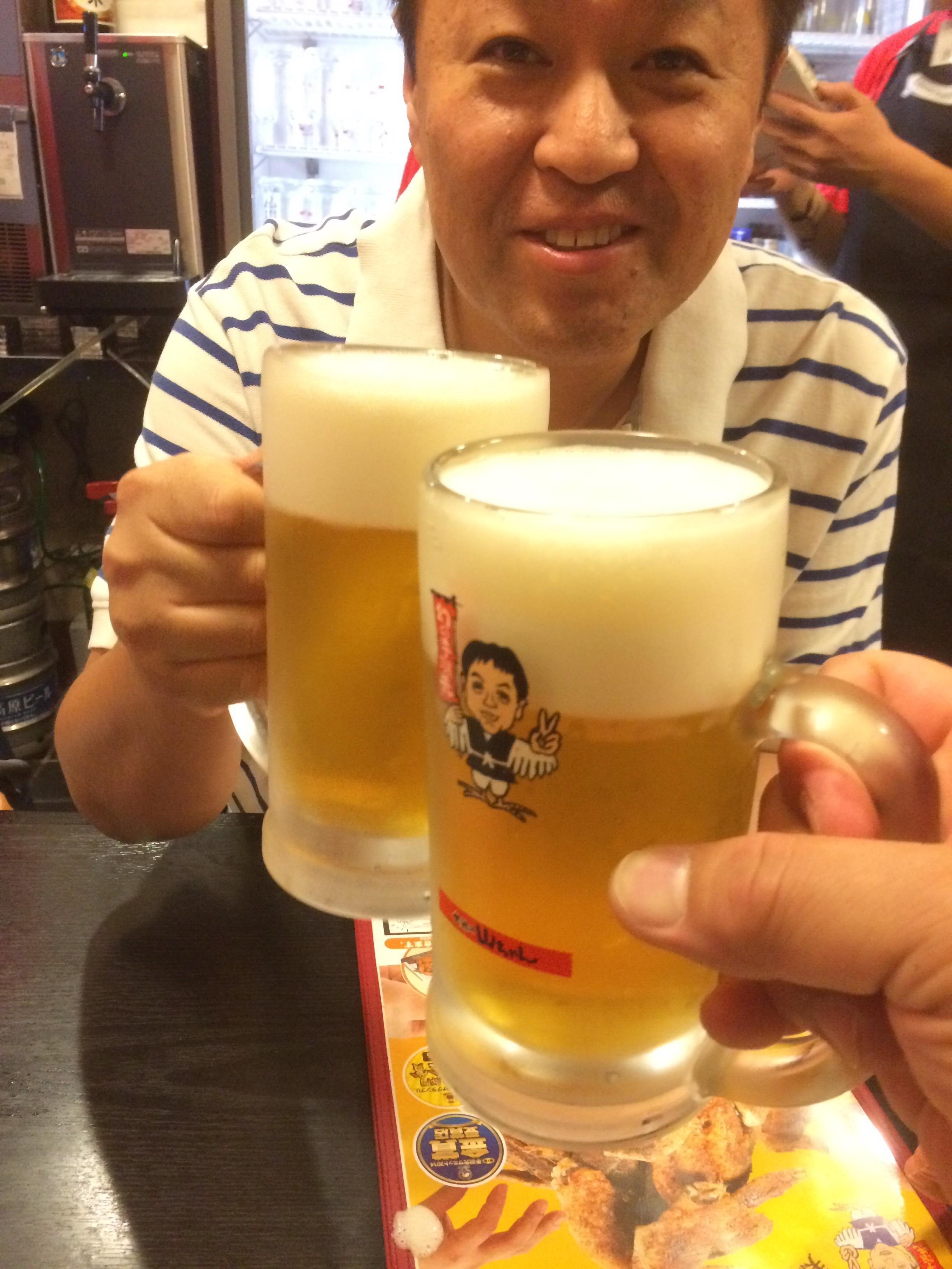 """名古屋へ。中学の親友と密会。名古屋フードは""""世界の山ちゃん""""で満腹!"""