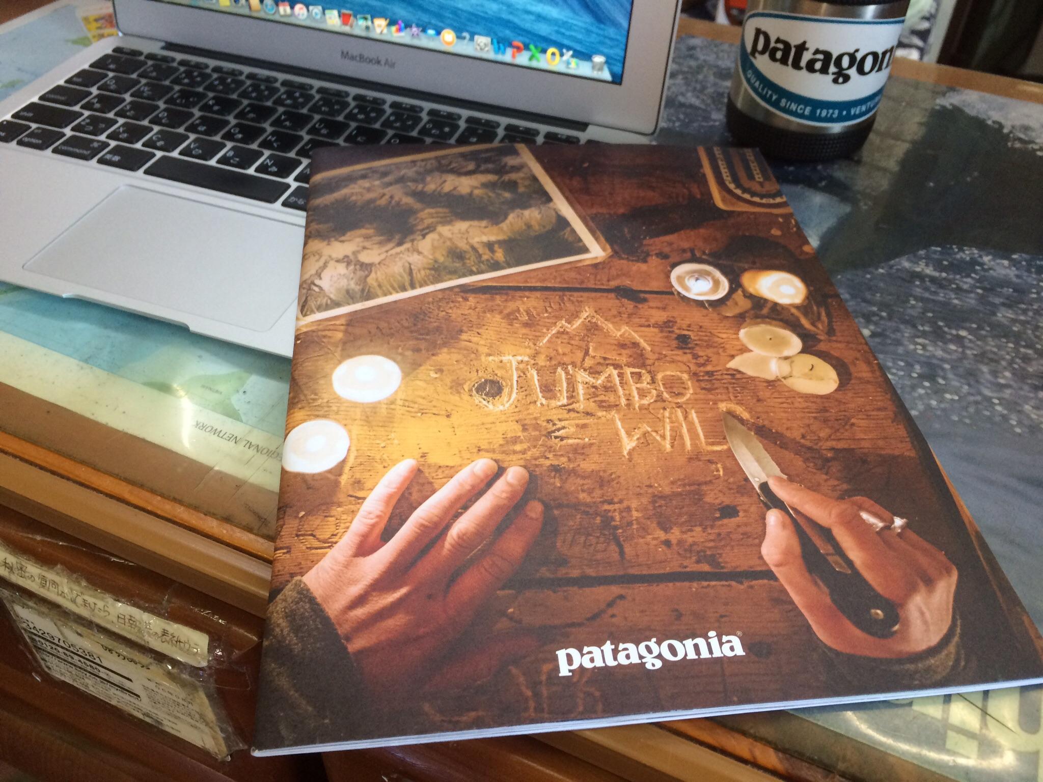 パタゴニア、秋のカタログが届きました!写真が素晴らしい!