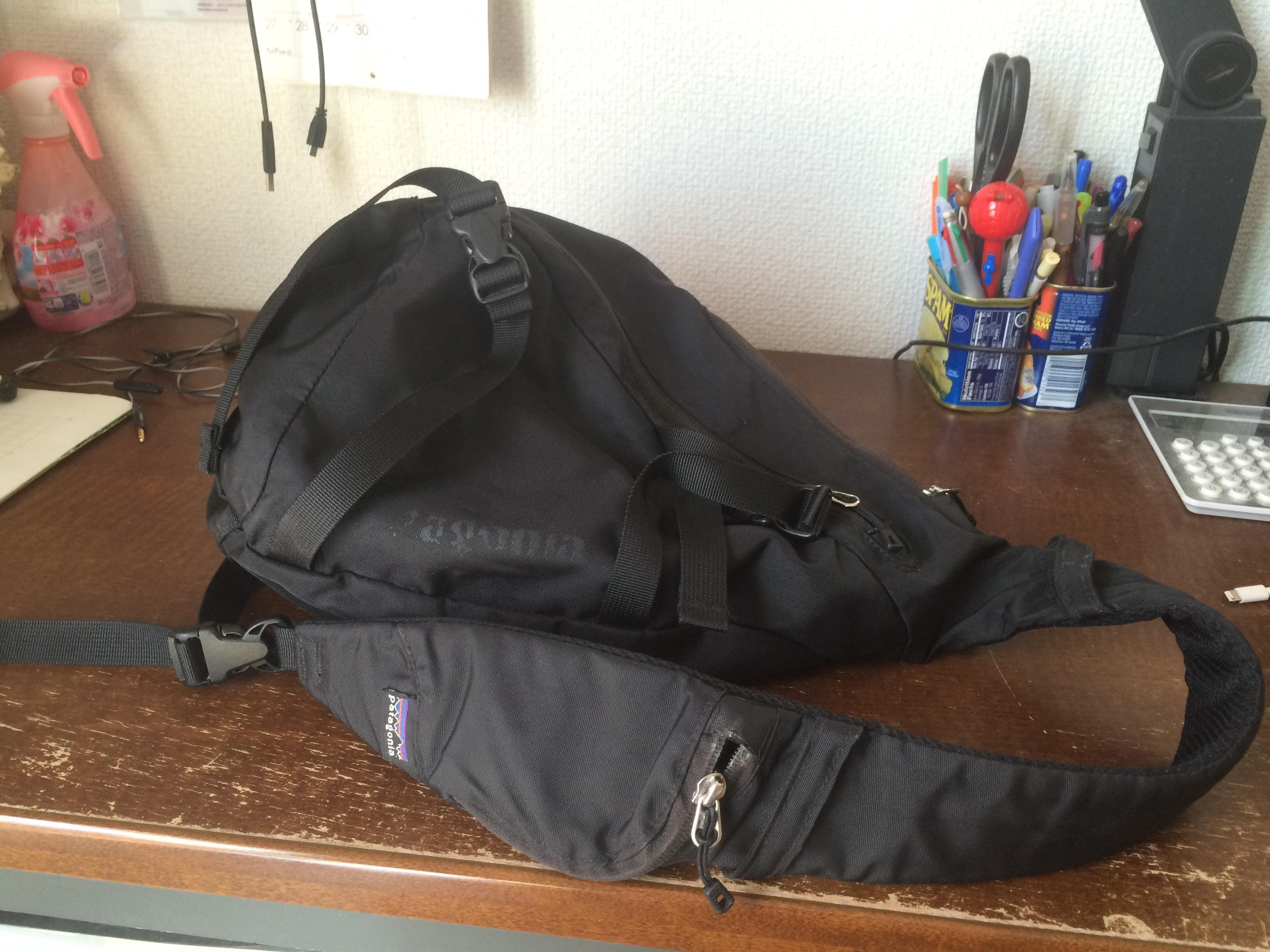 パタゴニア社のお気に入り「Atomバッグ」丈夫で使い易いバッグ!