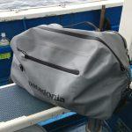 """【パタゴニア】""""ストームフロント""""防水バッグ、これ便利。実釣に活躍中。"""