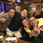 【柔道で繋がる、ご縁に感謝】熊坂先生囲む新年会を海老名駅で。