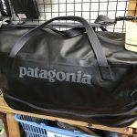 【パタゴニア】しっかり入り、出し入れも便利。ドライ・ダッフルが素晴らしい。