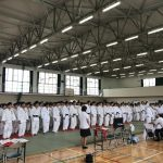 【伊志田高校杯中学生柔道大会】審判で今年もお手伝い。