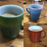 【ファイヤーキング】古きアメリカ品最高!マグカップの握り難さが味なのだ。
