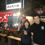 【高校時代お世話になった先輩と!】《柔道王国》博多夜は柔道話で盛り上がった。