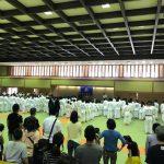 【鎌倉武道館にて次男が試合】小生は午後から仕事により審判なし。試合観戦。