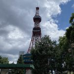【晴れました、気持ちの良い札幌です】湿度が少ない気候、最高。