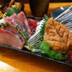 筋肉痛…「歳を重ねるごとに、肉より魚」酒の肴は、トビウオで。