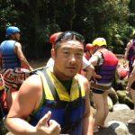 『ラフティング』ウブドから更に奥に進み、アユン川へ。最高!