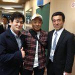 日本武道館。懐かしい級友と再会出来、嬉しい一日。