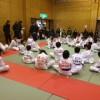 久々の少年柔道大会で、平松慶、柔道の審判をしてきました。