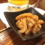 北海道旅!《おつまみ》味付けがお酒とベストマッチ。