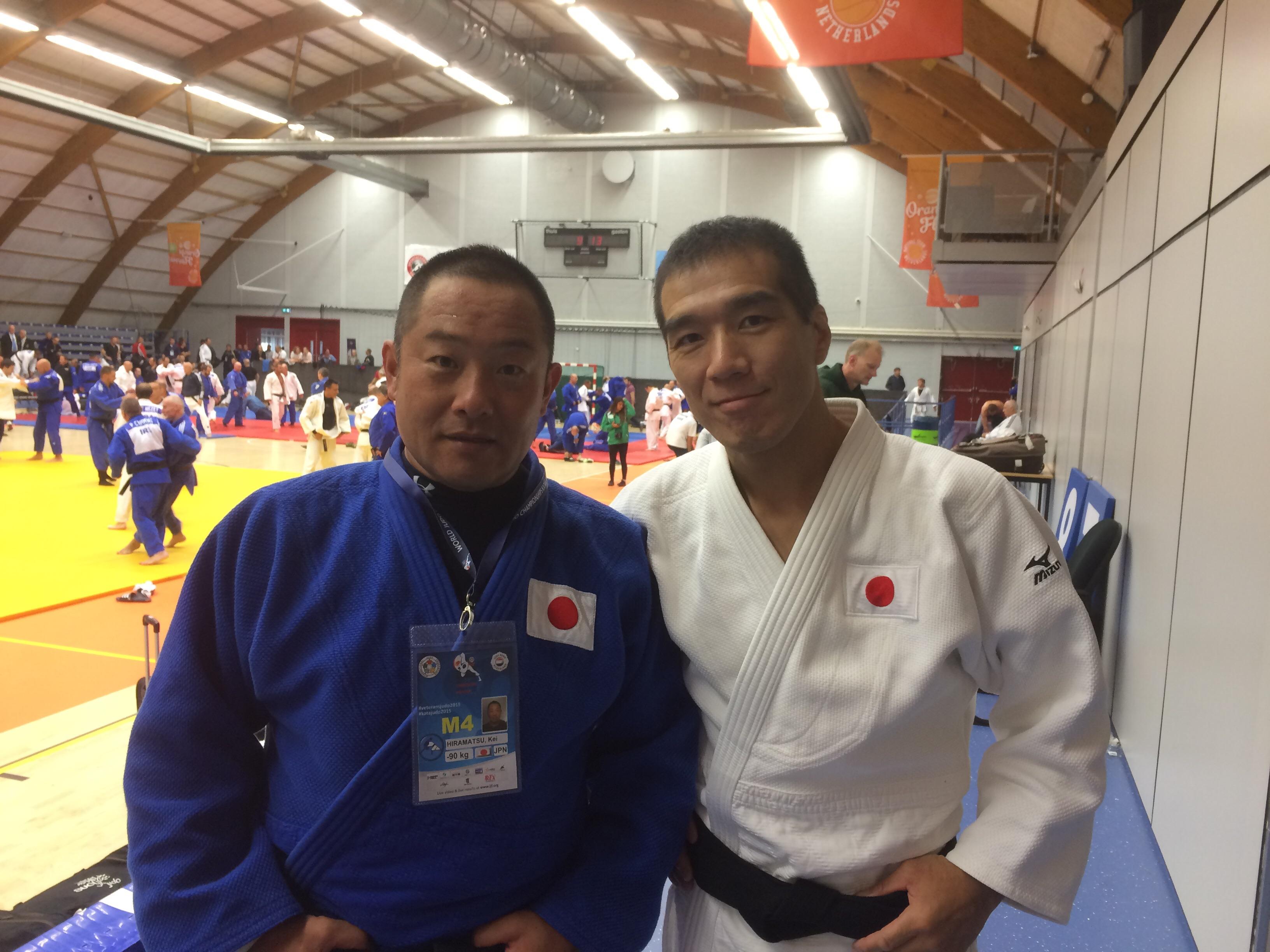 世界ベテランズ柔道大会に出場し、オランダから戻りました。
