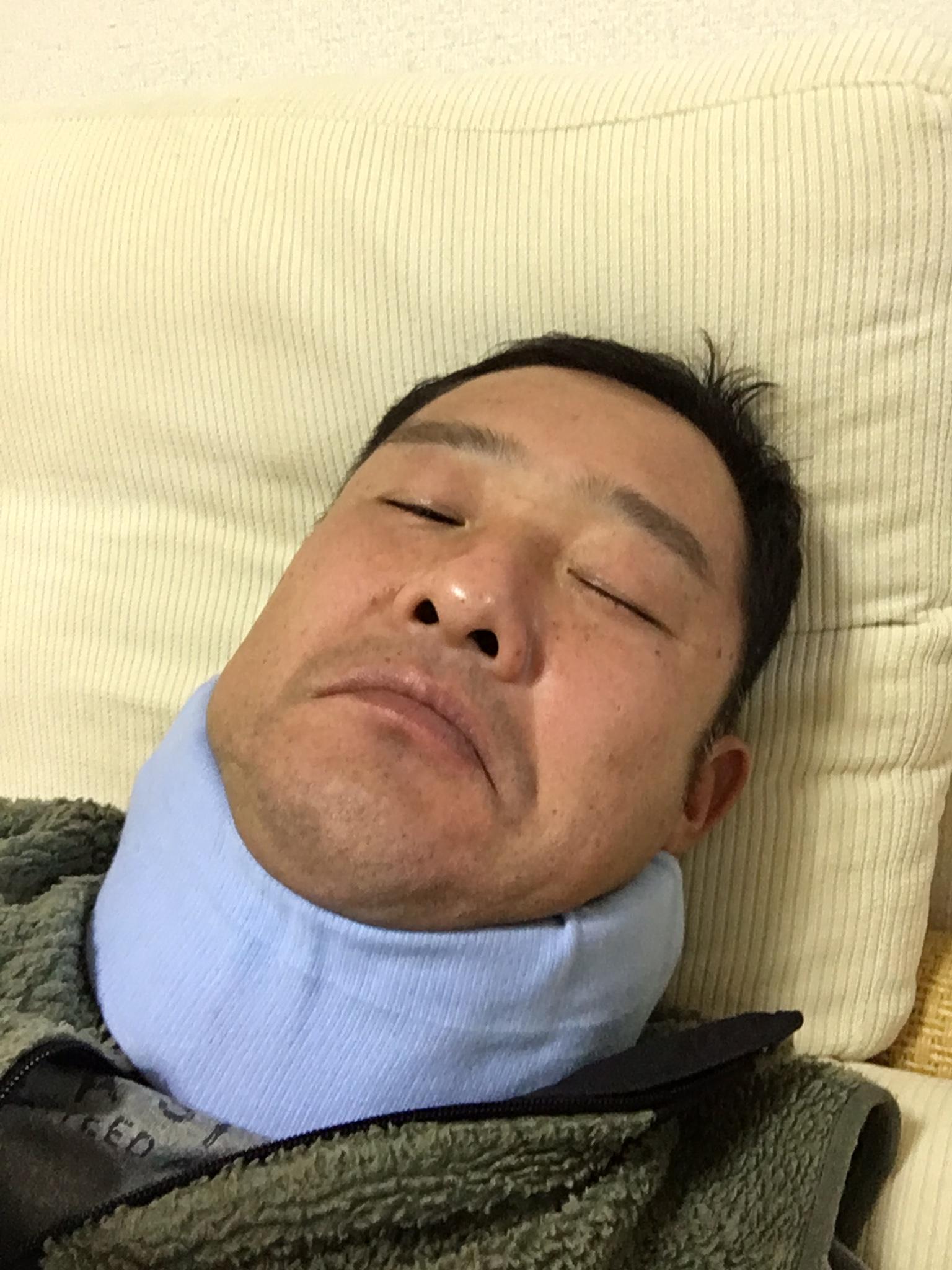 首、やっちまった…【脊髄空洞症】で手術した場所が激痛で動けない。