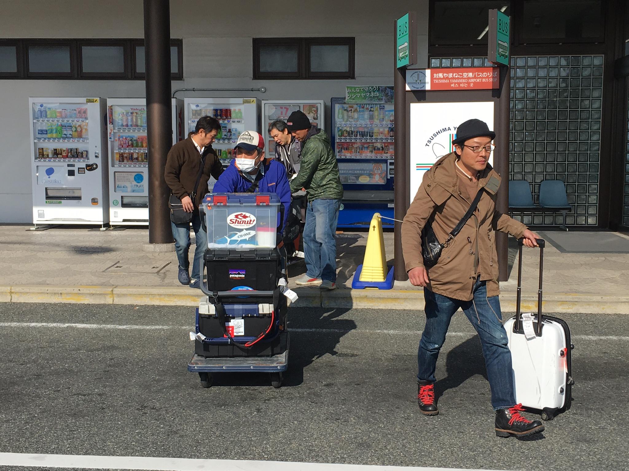 ホームグランド、長崎県対馬へ。