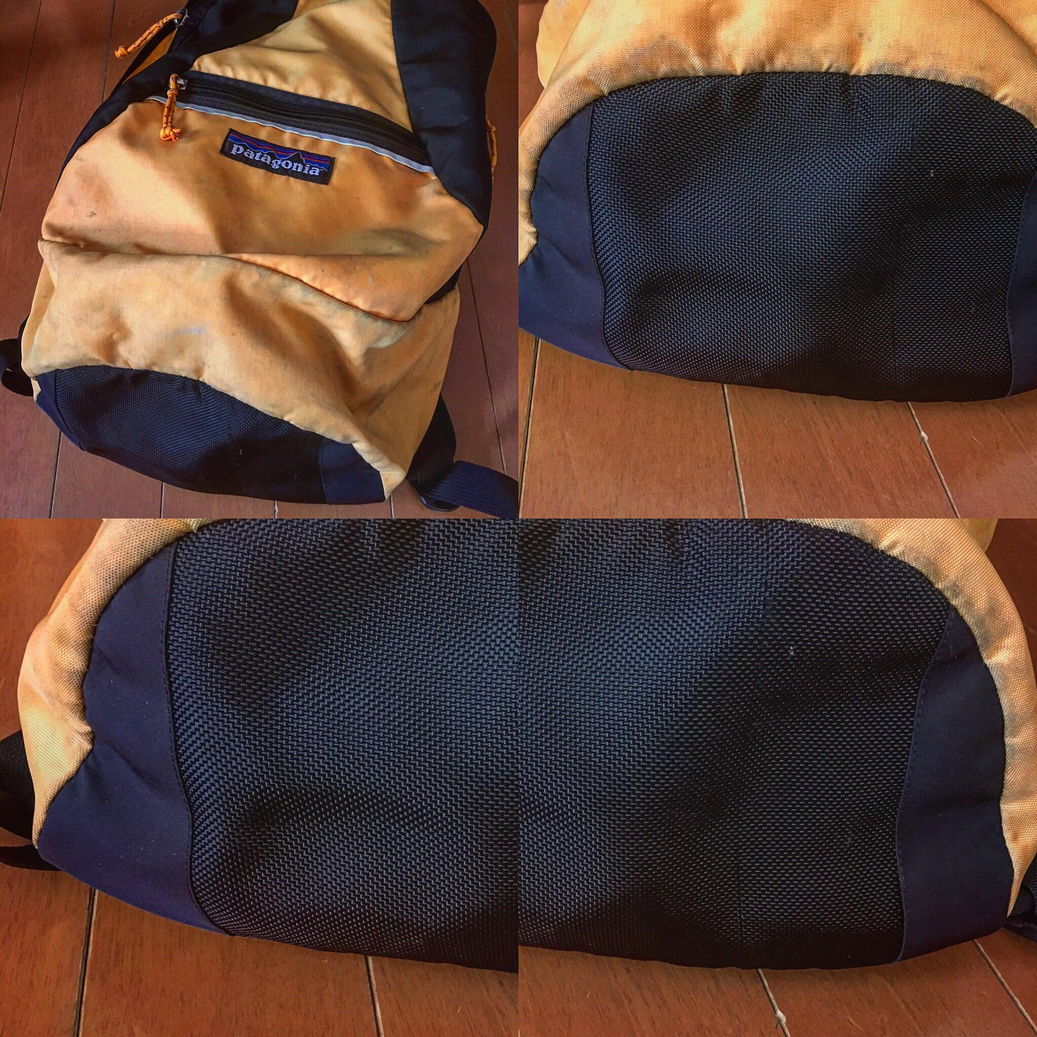 パタゴニア社の使い込んだバッグ、リペア完了!