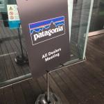 パタゴニアのディーラー商談会に、Goldicスタッフとして参加して来ました。