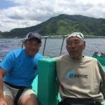 2日目の積丹半島「ブリジギング」は、チャーマスこと北村秀行さんと実釣