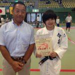 全国中学生柔道大会の神奈川県予選へ。ありがとう、ノンちゃん。