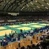 アプリを信じて【三重県営サンアリーナ】へ全国小学生柔道大会観戦。