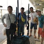 【故郷で原点回帰】いざ慶良間諸島へ。そして夜は出版記念パーティー。