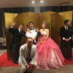 【那覇に帰郷】宮城梓君結婚披露宴参列。おめでとう!