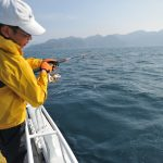 【キャスティングで狙うヒラマサ】アルモミス18cmが大活躍。「釣れるよっ」。