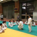 【座間南中学柔道部員にプレゼント。】内村直也先生の背負投講習会。