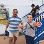 【八景島シーパラダイスへ】試合後は気分転換も重要。思いっきり遊んだよ。