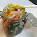 【売れ残り野菜、集合〜ピクルス最高‼️】甘酢に一夜漬けたら、絶品な逸品に変身。