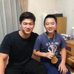 【アジア大会優勝のお祝いに】ヒラマサでお祝い。金メダリストに次男興奮‼️