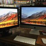 【iMacを2画面で長い環境】やっと画像みながら原稿に集中。Mac環境整備。