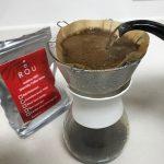 【毎朝のコーヒータイム】香りを楽しみ、淹れたてを思い出す小生。