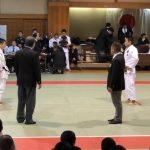 【高体連、柔道審判で実技勉強。】柔道審判の大変さ、難しさを実感。