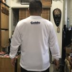 【Goldicオリジナルウエアー】夏場に速乾素材ロングTシャツをリリース。