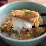 【だし巻き卵から発展⁉️】これ、慶鶏玉丼ってネーミングね(笑)美味いです。