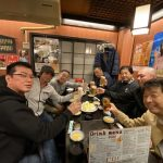 【農家アングラーも合流。】福岡ラストナイトは博多駅前「家康」にて乾杯‼️