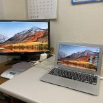 【デュアルモニターでサクサク業務】会社のMac環境、ジワジワ整えてます。