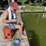 【厚木ヘラぶな釣りセンターへgo】次男と鯉池でバトル。ラストは新釣法へ。