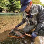 【9月末の北海道、道東trip】雨を避け入漁券を購入し、管理河川へGo。