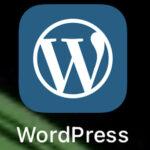 【WordPressのiPhone用アプリをDL】これが上手く操作出来なくて。