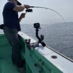 【御蔵島釣行、あら今年は何度目⁉️】森竜丸さんでトライして来ました。