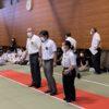 【中学校柔道部外部コーチ】三年生地区予選引退試合。