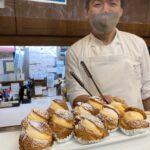 """【パティスリー""""イイダ""""でケーキ購入】柔道ご褒美は至福のシュークリームで。"""